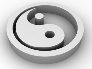 Icon Ying and Yang
